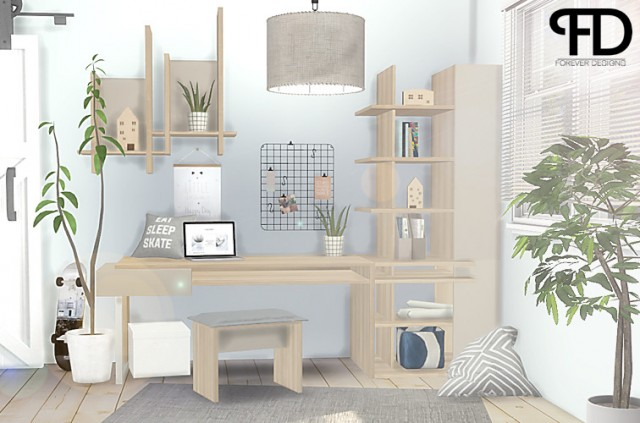 Graphic Study Room by ForeverDesigns