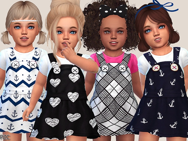 Cute Toddler Dresses Collection by Pinkzombiecupcakes