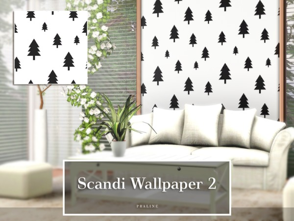 Scandi Wallpaper 2 by Pralinesims