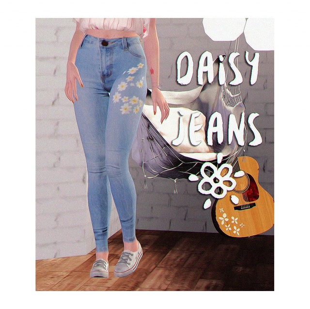 Daisy Jeans by Halosims