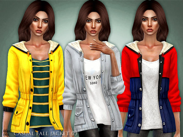 Casual Fall Jacket 03 by Black Lily