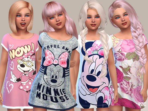 Girls Nightgowns Collection 09 by Pinkzombiecupcakes