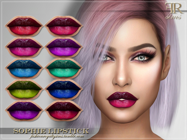 FRS Sophie Lipstick by FashionRoyaltySims