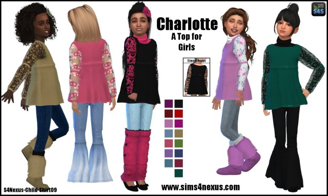 Charlotte by Sims4Nexus