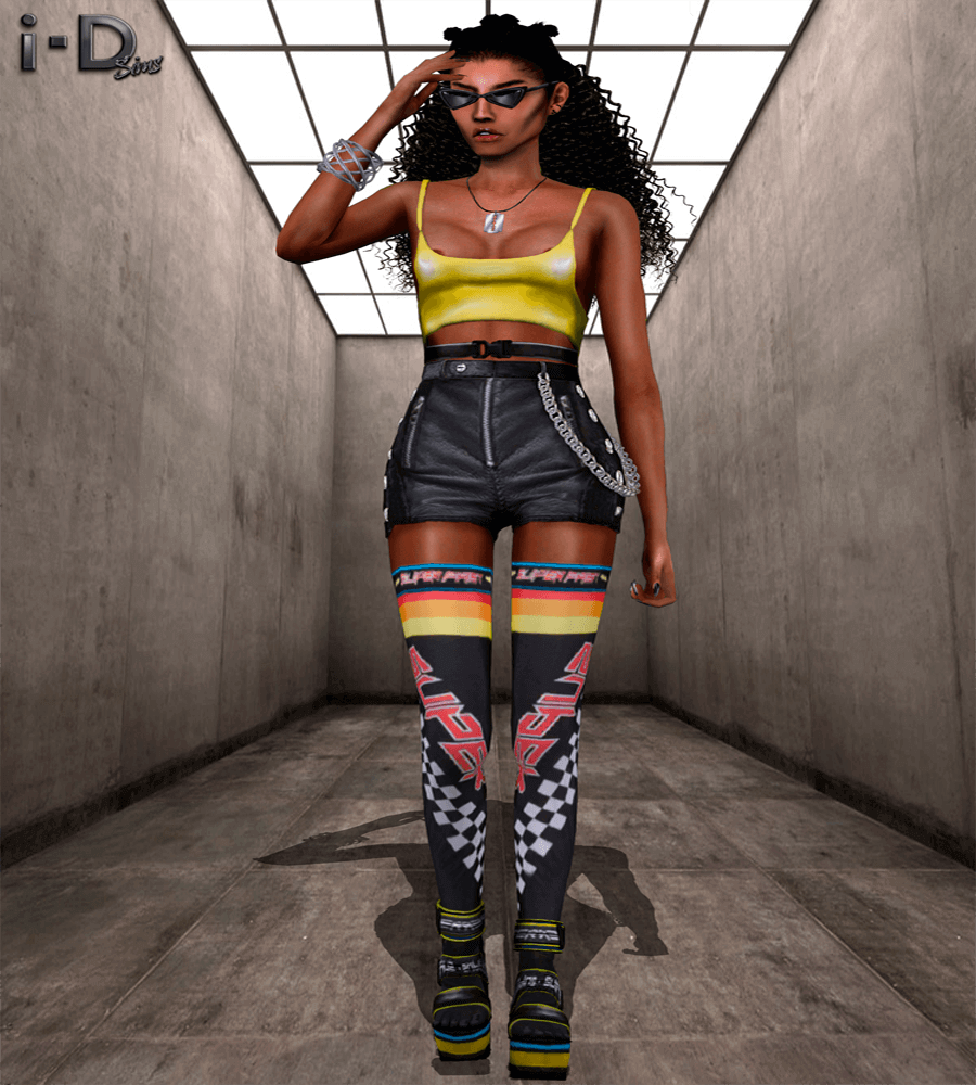 Industrial Crush Collection by i-D sims
