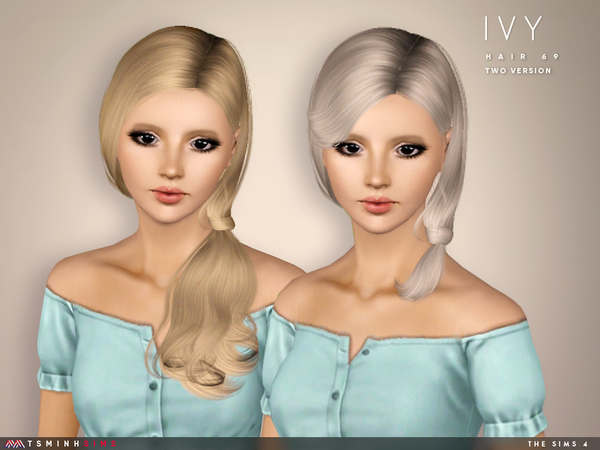 Ivy ( Hair 69 - Set ) by TsminhSims