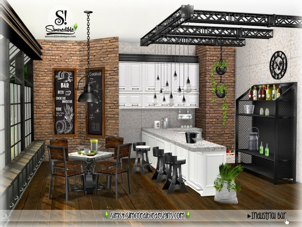 Industrial Bar by SIMcredible