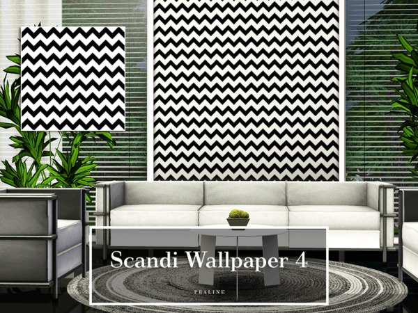 Scandi Wallpaper 4 by Pralinesims