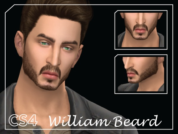 [CS4] William Beard by Choi Sims 4