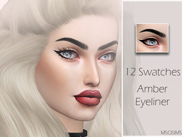 Amber Eyeliner by MSQSims