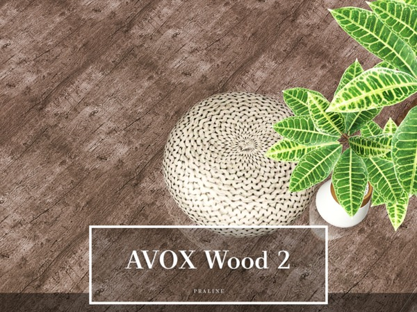 AVOX Wood 2 by Pralinesims