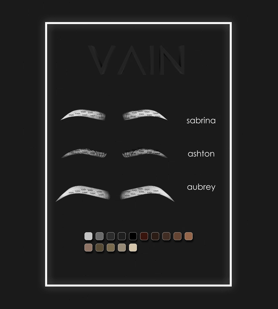 Eyebrow Pack 1 by vainsl