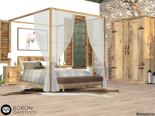 Boron Bedroom by wondymoon