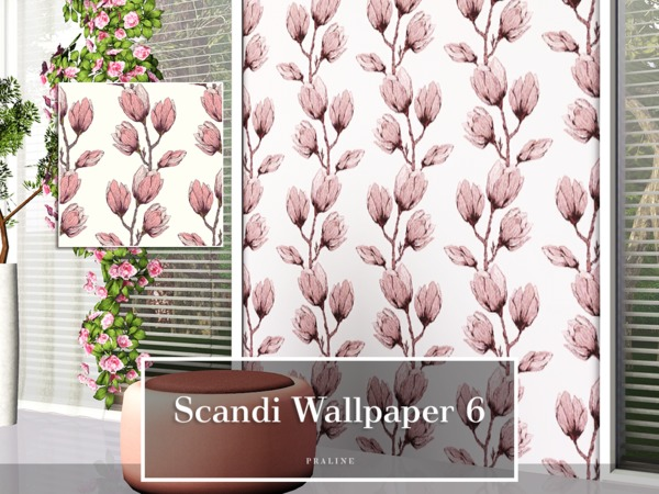 Scandi Wallpaper 6 by Pralinesims