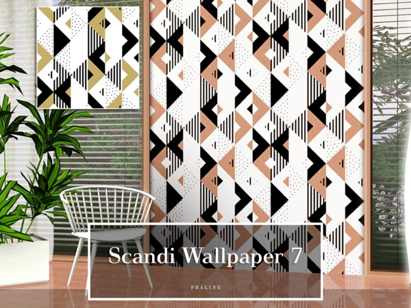 Scandi Wallpaper 7 by Pralinesims