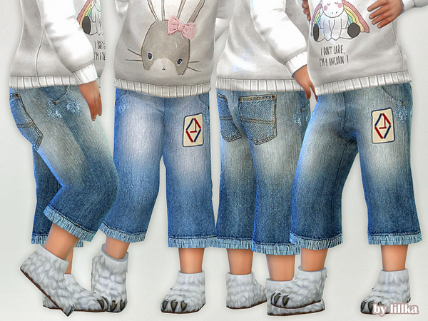 Toddler Jeans P06 by lillka