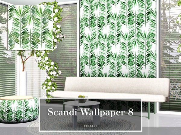 Scandi Wallpaper 8 by Pralinesims