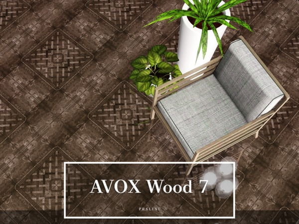 AVOX Wood 7 by Pralinesims