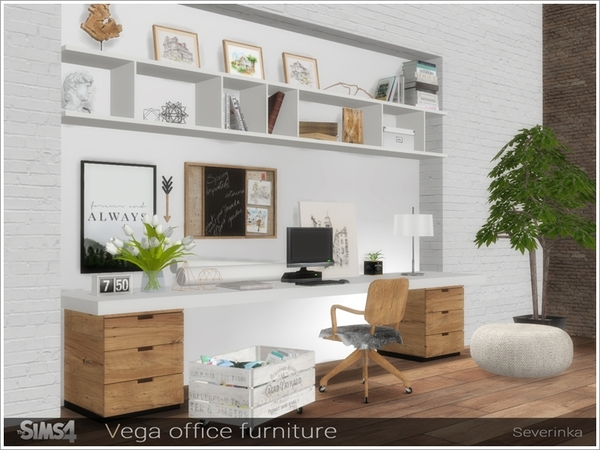 Vega office furniture by Severinka