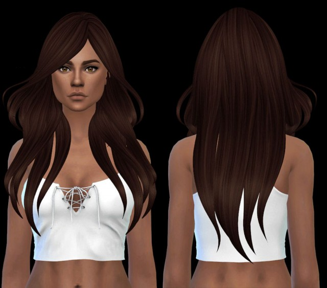 Blowing hair by Leo-Sims
