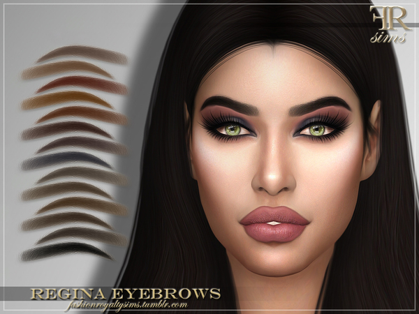FRS Regina Eyebrows by FashionRoyaltySims