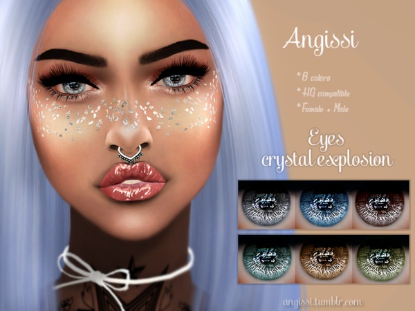 eyes-crystal explosion by ANGISSI