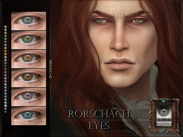 Rorschach Eyes by RemusSirion
