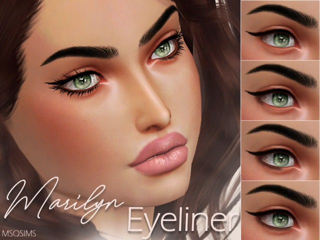 Marilyn Eyeliner by MSQSims