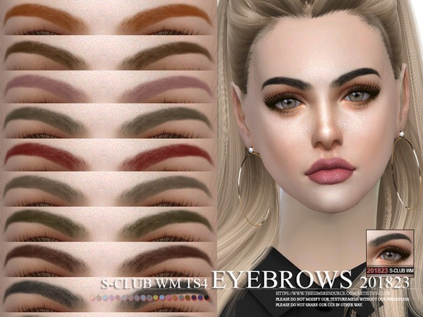S-Club WM ts4 Eyebrows 201823