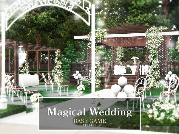 Magical Wedding by Pralinesims