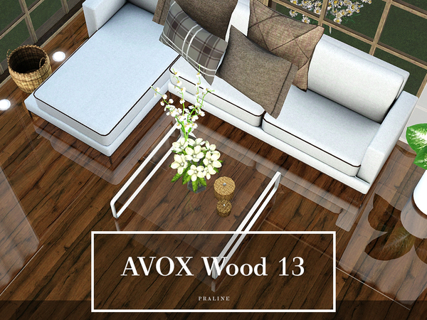 AVOX Wood 13 by Pralinesims
