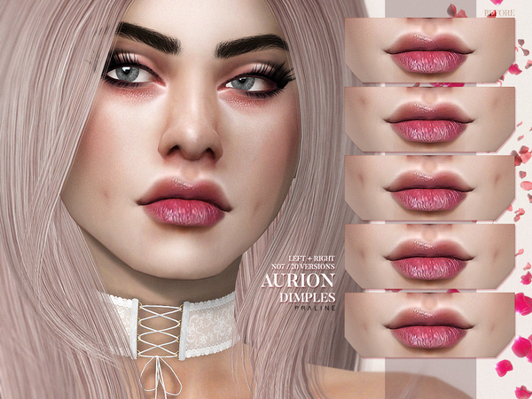 Aurion Dimples N07 by Pralinesims