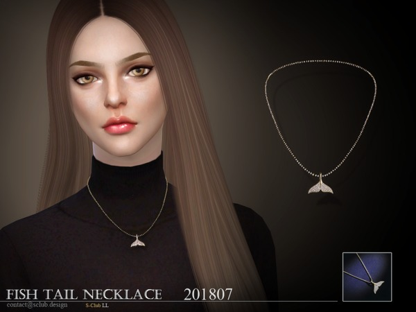 S-Club ts4 LL Necklace F 201807