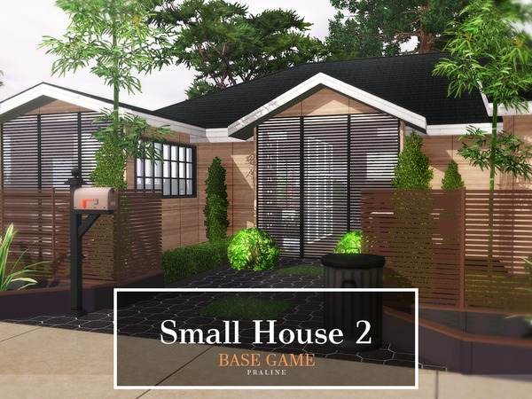 Small House 2 by Pralinesims