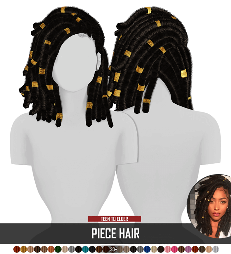 Piece Hair by Redhead