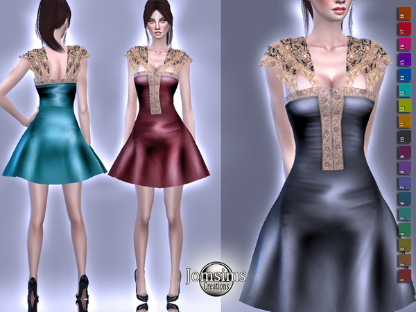Tarinua dress by jomsims