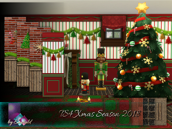 TS4 Xmas Season 2018 by emerald