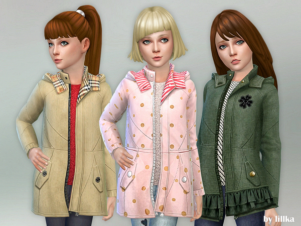 Coat for Girls 05 by lillka