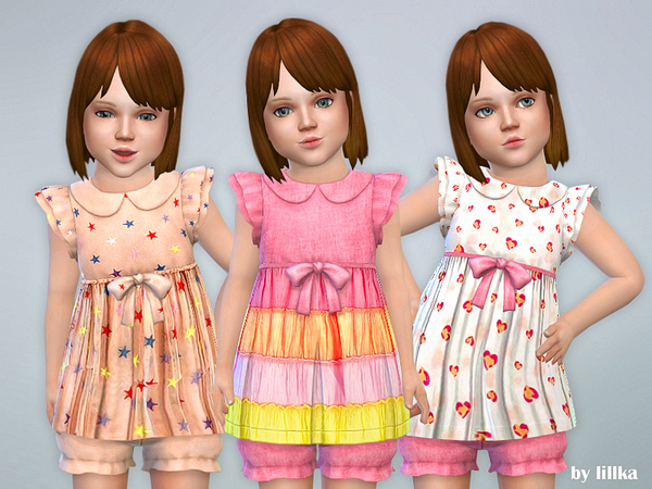 Toddler Dresses Collection P79 by lillka