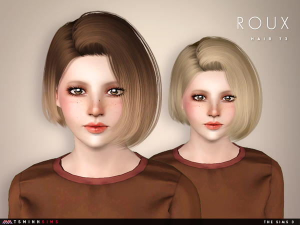 Roux ( Hair 73 ) by TsminhSims