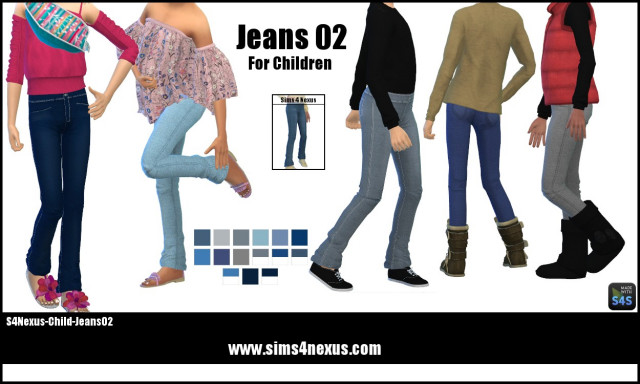 Jeans 02 by Sims4Nexus