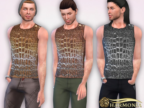 Sequin Embellished Tank by Harmonia