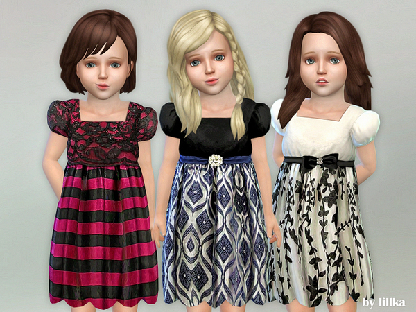 Toddler Dresses Collection P80 by lillka