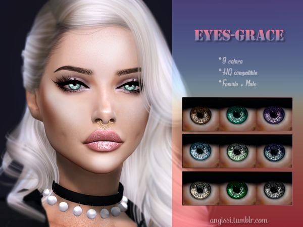 eyes-Grace by ANGISSI