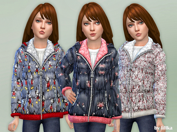 Winter Jacket for Girls by lillka