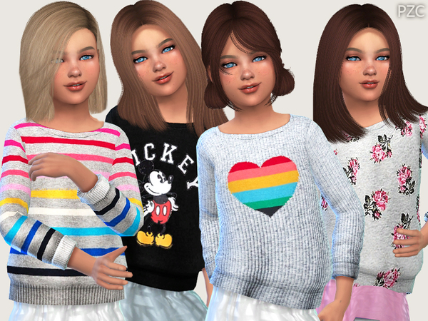 Winter Sweaters For Girls 02 by Pinkzombiecupcakes