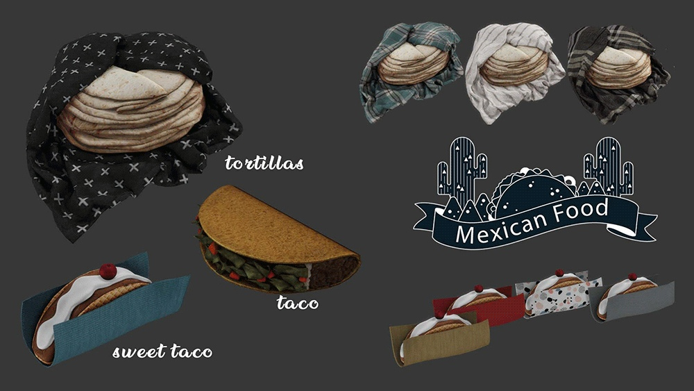 Mexican food by Leo-Sims