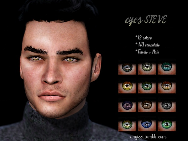 eyes-STEVE by ANGISSI