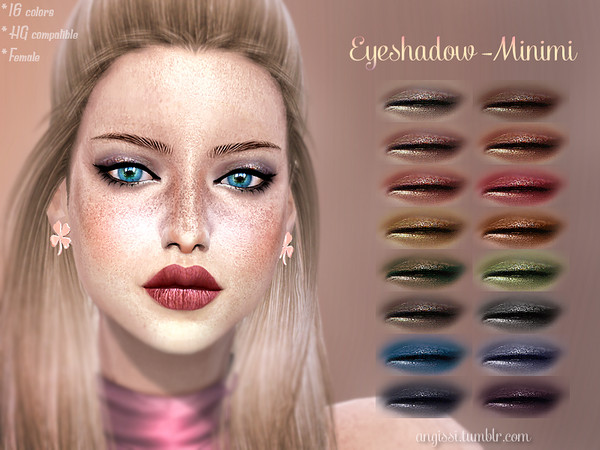 Eyeshadow -Minimi by ANGISSI