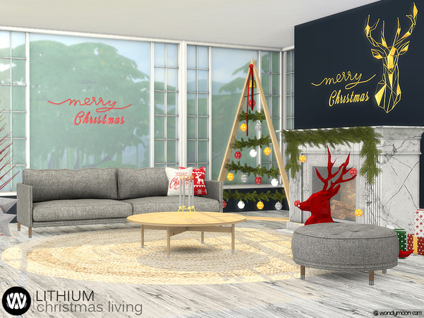 Lithium Christmas Living by wondymoon
